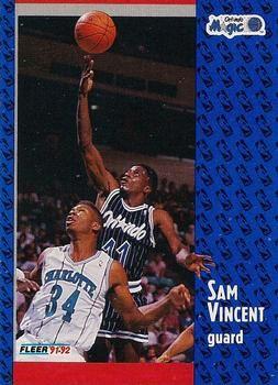 1991 FLEER #333 Sam Vincent - Standard
