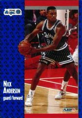 1991 FLEER #143 Nick Anderson - Standard