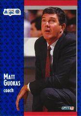1991 FLEER #145 Matt Guokas - Standard