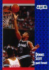 1991 FLEER #147 Dennis Scott - Standard