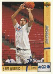 1991 Upper Deck MAGIC #499 Brian Williams - Standard