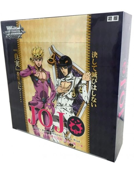 "Weiss Schwarz Japanese Booster Box ""JoJo's Bizarre Adventure Golden Wind"" by Bushiroad"