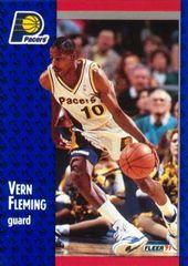 1991 FLEER #81 Vern Fleming - Standard