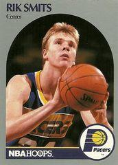 1990 NBAHoops #139 Rik Smits - Standard