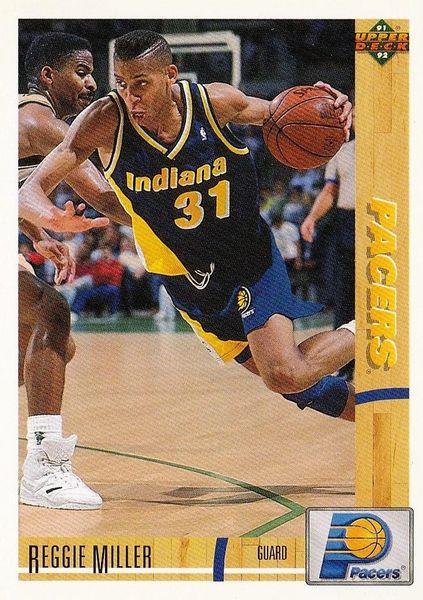 1991 Upper Deck Pacers #256 Reggie Miller - Standard