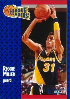 1991 FLEER #226 Reggie Miller - Standard