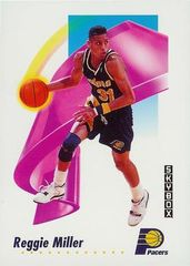 1991 SkyBox #114 Reggie Miller - Standard
