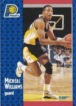 1991 FLEER #88 Micheal Williams - Standard