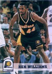 1994 NBAHoops #349 Kenneth Ray Williams - Standard