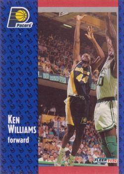 1991 FLEER #295 Ken Williams - Standard