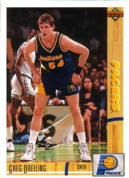 1991 Upper Deck Pacers #306 Greg Dreiling - Standard