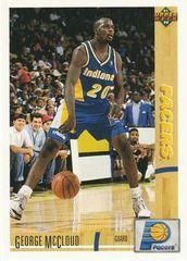 1991 Upper Deck Pacers #233 George McCloud - Standard