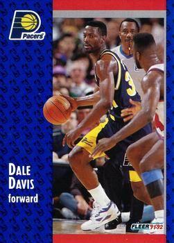 1991 FLEER #293 Dale Davis - Standard