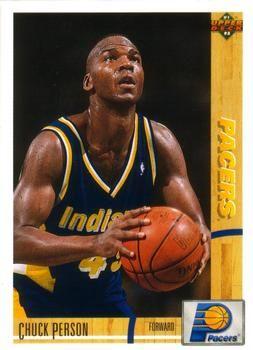 1991 Upper Deck Pacers #253 Chuck Person - Standard
