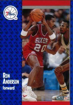 1991 FLEER #150 Ron Anderson - Standard