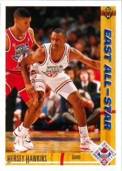 1991 Upper Deck #71 Hersey Hawkins - Standard