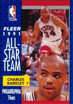 1991 FLEER #213 Charles Barkley - Standard