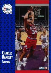 1991 FLEER #151 Charles Barkley - Standard