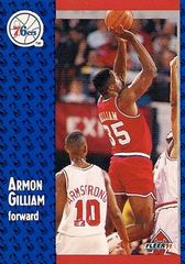 1991 FLEER #153 Armon Gilliam - Standard