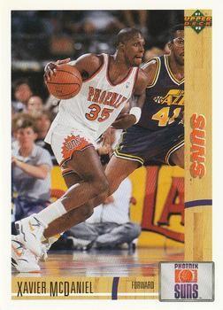 1991 Upper Deck SUNS #151 Xavier McDaniel - Standard