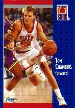 1991 FLEER #158 Tom Chambers - Standard