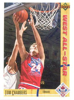 1991 Upper Deck #56 Tom Chambers - Standard