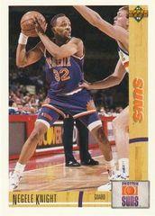 1991 Upper Deck SUNS #193 Negele Knight - Standard