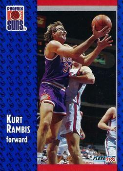 1991 FLEER #343 Kurt Rambis - Standard