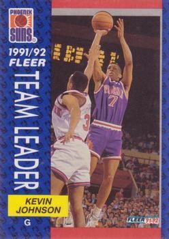 1991 FLEER #392 Kevin Johnson - Standard