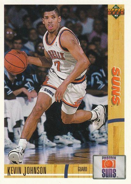 1991 Upper Deck SUNS #356 Kevin Johnson - Standard