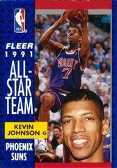 1991 FLEER #210 Kevin Johnson - Standard