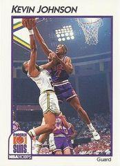 1991 NBAHoops #33 Kevin Johnson - Standard