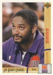 1991 Upper Deck SUNS #373 Joe Barry Carroll - Standard