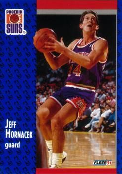 1991 FLEER #160 Jeff Hornacek - Standard