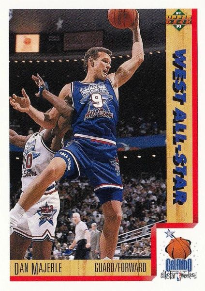 1991 Upper Deck #475 Dan Majerle - Standard