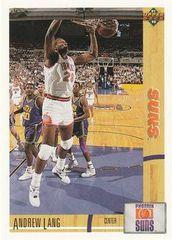 1991 Upper Deck SUNS #158 Andrew Lang - Standard