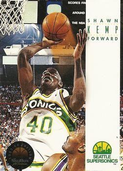 1993 SkyBox #169 Shawn Kemp - Standard