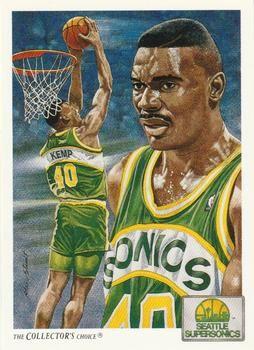 1991 Upper Deck #96 Shawn Kemp - Standard
