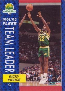 1991 FLEER #396 Ricky Pierce - Standard