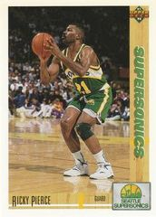 1991 Upper Deck SuperSonics #156 Ricky Pierce - Standard