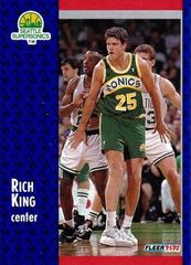 1991 FLEER #360 Rich King - Standard