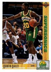 1991 Upper Deck SuperSonics #188 Quintin Dailey - Standard
