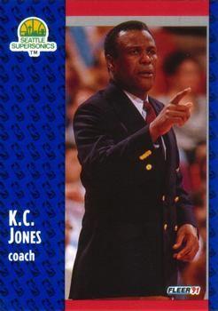 1991 FLEER #191 K.C. Jones - Standard
