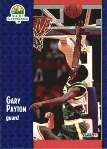 1991 FLEER #194 Gary Payton - Standard