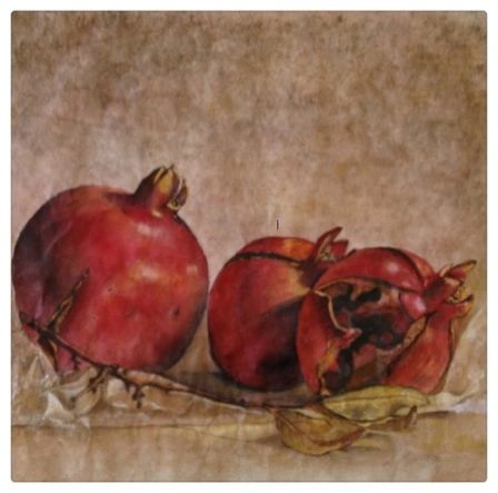 Ojai Pomegranates- SOLD prints not available