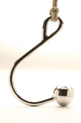 caseycalvert Stainless Steel 50mm Ball Hook