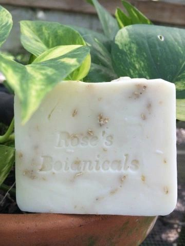 Creamy Goats Milk Soap W/ Shea Butter & Ground Oatmeal