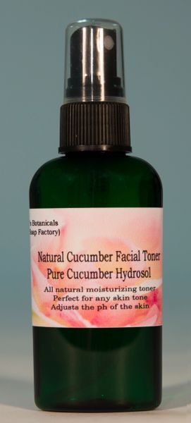 Cool Cucumber (cucumber face toner & body mister)
