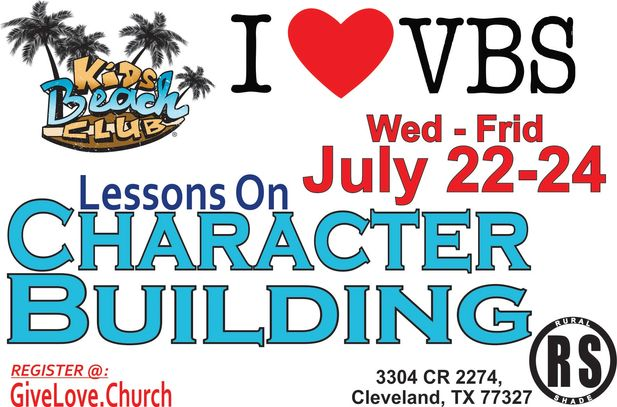 Join our RSBC Kids for our 2020 VBS Program.  We will have s