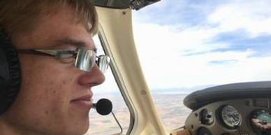 Josh is enjoying flying after he received his Private Pilot Certificate. He comes back to fly with